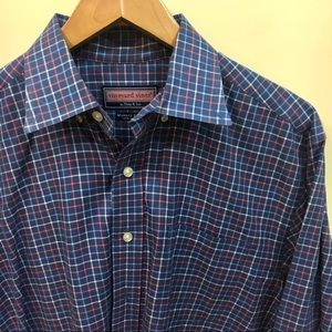 Vineyard Vines checkered Murray Shirt